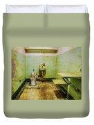 Alcatraz Cell 1 Duvet Cover
