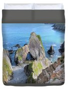 Nohoval Cove - Ireland Duvet Cover