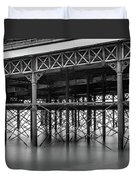 North Pier Blackpool Duvet Cover