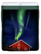 Northern Lights Chimney Duvet Cover