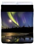 Northern Lights Thingvellir Duvet Cover
