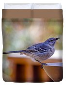 Northern Mockingbird Duvet Cover