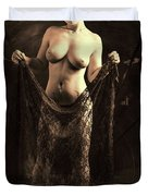 Nude Woman Model 1722  027.1722 Duvet Cover
