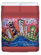 Nyc Impressions 3 Duvet Cover