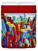 Nyc View Duvet Cover