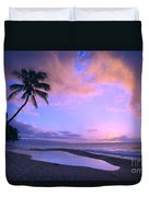 Oahu, North Shore Duvet Cover