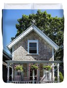 Oak Bluffs Cottage Duvet Cover