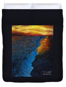 Ocean Sunset Duvet Cover