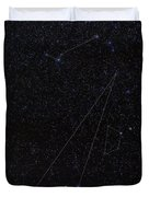 Octans, Apus, South Celestial Pole Duvet Cover