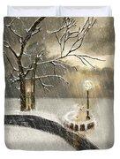 Oh Let It Snow Let It Snow Duvet Cover