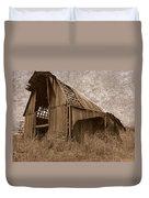 #210 Old Barn Duvet Cover
