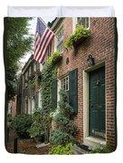 Old City Philadelphia Duvet Cover