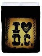 Old D.c. Duvet Cover