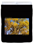 Old Giant  Autumn Cottonwood Duvet Cover