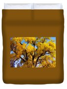 Old Giant  Autumn Cottonwood Orton Duvet Cover