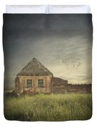 Old House Duvet Cover