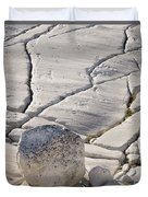 Olmstead Rock And Cracks 2 Duvet Cover