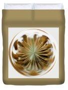 Orb Image Of A Dandelion Duvet Cover