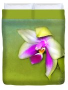 Shy Orchid  Duvet Cover