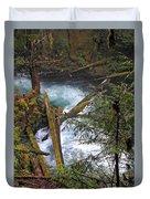 Oregon Stream Duvet Cover