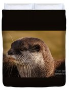 Oriental-small-clawed-otter Duvet Cover