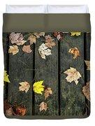 Original Autumn Foliage Duvet Cover