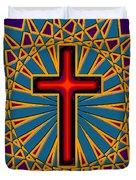 Ornamental Cross Duvet Cover