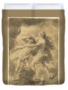 Orpheus And Eurydice Duvet Cover