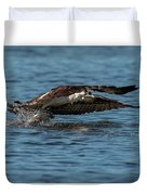 Osprey Fishing Duvet Cover