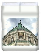 Our Lady Of Victory Angel Duvet Cover