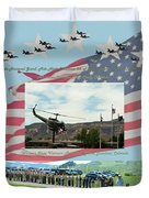 Our Memorial Day Salute Duvet Cover