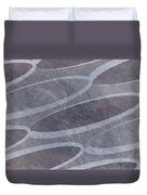 Ovals Pattern Texture Background Duvet Cover
