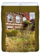 Overgrown Fall Garden Duvet Cover
