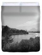 Oxbow Bend Grand Teton National Park  Duvet Cover