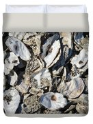 Oyster Shells Duvet Cover