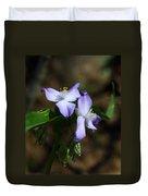 Ozark Spiderwort Duvet Cover