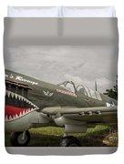 P - 40 Warhawk Duvet Cover