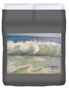 Pacific Wave Duvet Cover