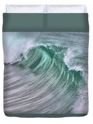 Pacific Waves Duvet Cover