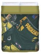 Packers Fan Duvet Cover