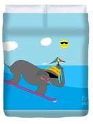 Surf Paddy Duvet Cover