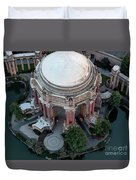 Palace Of Fine Arts Theatre In San Francisco Duvet Cover