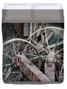 Palouse Farm Wheels 3156 Duvet Cover