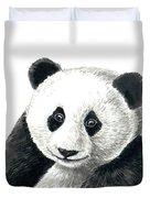 Panda Bear Duvet Cover