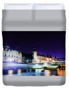 Paris At Night 15 Art  Duvet Cover