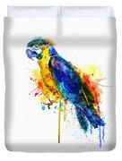Parrot Watercolor  Duvet Cover