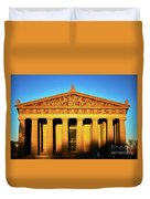 Parthenon In Nashville Duvet Cover