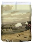 Partridge Shooting Duvet Cover