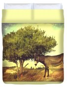 Pause For Thought Duvet Cover