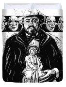 Pavarotti, Fidelio, Inking Duvet Cover